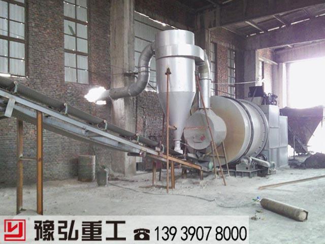 陕西沙子干燥机使用现场